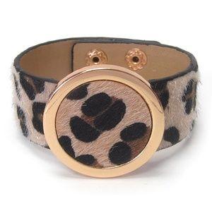 Jewelry - Stylish Animal Fur Print Bangle